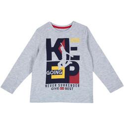 Textil Criança T-shirt mangas compridas Chicco 09006867000000 Cinzento