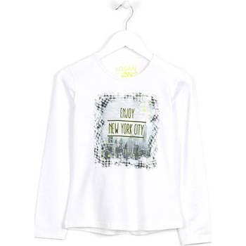 Textil Criança camisolas Losan 624 1204AB Branco