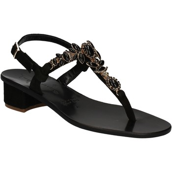 Sapatos Mulher Sandálias Positano 2007 Preto