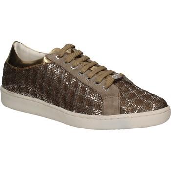 Sapatos Mulher Sapatilhas Keys 5052 Ouro