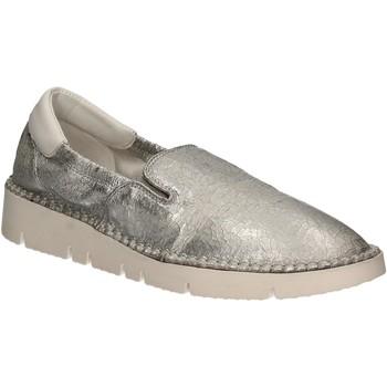 Sapatos Mulher Slip on Keys 5075 Prata