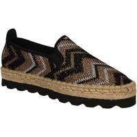 Sapatos Mulher Alpargatas Keys 5345 Preto