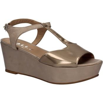 Sapatos Mulher Sandálias Mally 5667 Cinzento