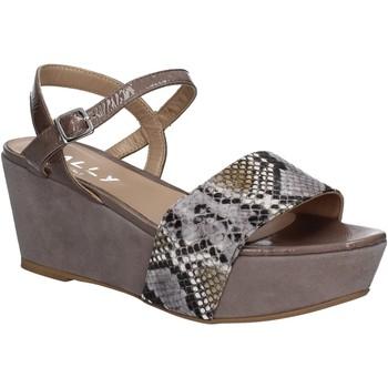 Sapatos Mulher Sandálias Mally 5671 Cinzento