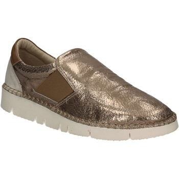 Sapatos Mulher Slip on Mally 5708 Ouro