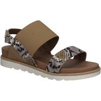 Sapatos Mulher Sandálias Mally 5783 Cinzento