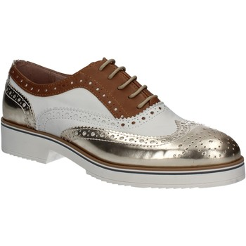 Sapatos Mulher Richelieu Mally 5813 Ouro