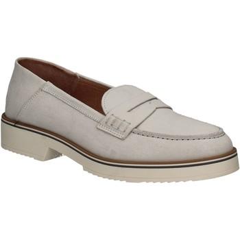 Sapatos Mulher Mocassins Mally 5876 Prata