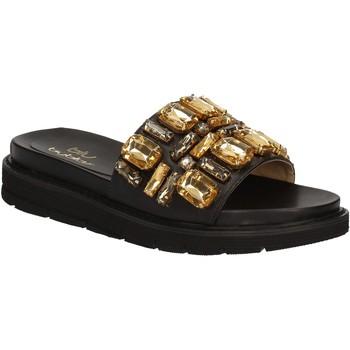 Sapatos Mulher chinelos Byblos Blu 672102 Preto