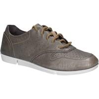 Sapatos Mulher Sapatilhas Clarks 123804 Prata