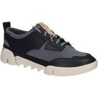 Sapatos Mulher Sapatilhas Clarks 123810 Azul