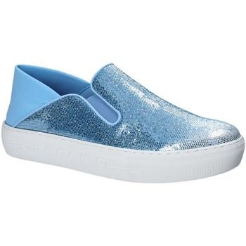 Sapatos Mulher Slip on Fornarina PE17YM1002V011 Azul