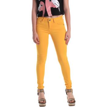 Textil Mulher Gangas Skinny Fornarina BE171L37D86846 Amarelo