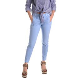 Textil Mulher Chinos Fornarina BE171L74G29118 Azul