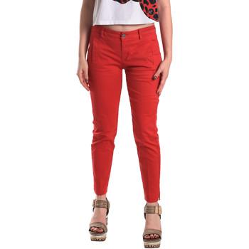 Textil Mulher Chinos Fornarina BE171L74G29176 Vermelho
