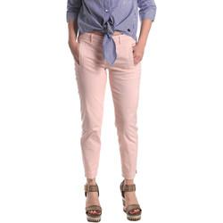 Textil Mulher Chinos Fornarina BE171L74G291C5 Rosa