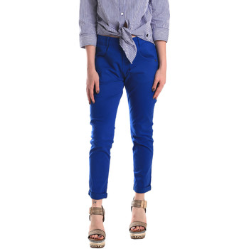 Textil Mulher Chinos Fornarina BE171L75G29112 Azul