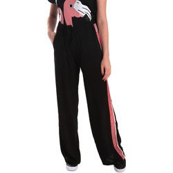 Textil Mulher Calças de treino Fornarina BE171L97C99700 Preto