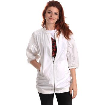 Textil Mulher Corta vento Fornarina BE173C31N30009 Branco