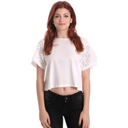 Textil Mulher Tops / Blusas Fornarina BE175J88JG1309 Branco