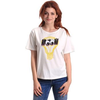 Textil Mulher T-Shirt mangas curtas Fornarina BE175L27JG1608 Branco