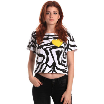 Textil Mulher T-Shirt mangas curtas Fornarina BE175L35JG0700 Preto