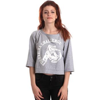 Textil Mulher Sweats Fornarina BE176841F42706 Cinzento
