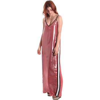 Textil Mulher Vestidos compridos Fornarina BE178D61CA05E9 Rosa