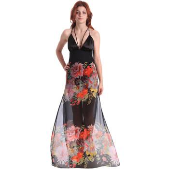 Textil Mulher Vestidos compridos Fornarina BE178D67CA0700 Preto