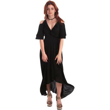 Textil Mulher Vestidos compridos Fornarina BE178D69CA2000 Preto