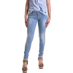 Textil Mulher Gangas Skinny Fornarina BER1H37D709R60 Azul
