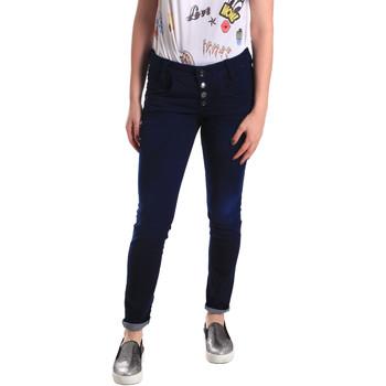 Textil Mulher Gangas Skinny Fornarina BER1I02D784R50 Azul