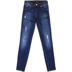 Textil Mulher Gangas boyfriend Fornarina BER1I89D844UA Azul