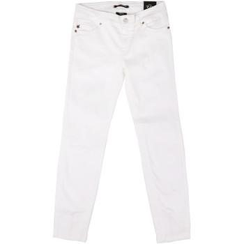 Textil Mulher Calças de ganga slim Fornarina BER1L01D851VJ Branco