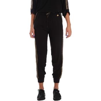Textil Mulher Calças de treino Fornarina SE171L96C99700 Preto