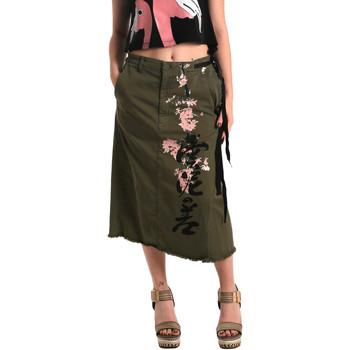 Textil Mulher Saias Fornarina SE172C10G29231 Verde