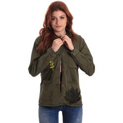 Textil Mulher camisas Fornarina SE173C28G29231 Verde
