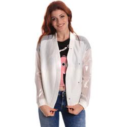 Textil Mulher Jaquetas Fornarina SE173C37I06809 Branco