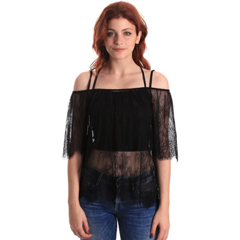 Textil Mulher Tops / Blusas Fornarina SE174575H26700 Preto