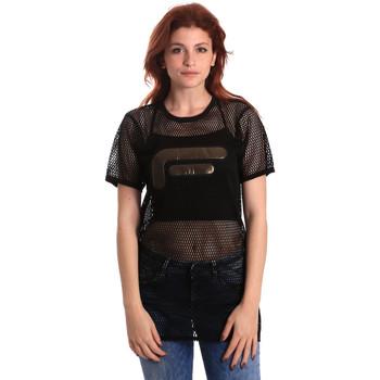 Textil Mulher Tops / Blusas Fornarina SE175J69H26600 Preto