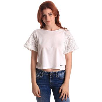 Textil Mulher Tops / Blusas Fornarina SE175J88JG1309 Branco