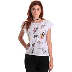 Textil Mulher Tops / Blusas Fornarina SE175L40JG0709 Branco