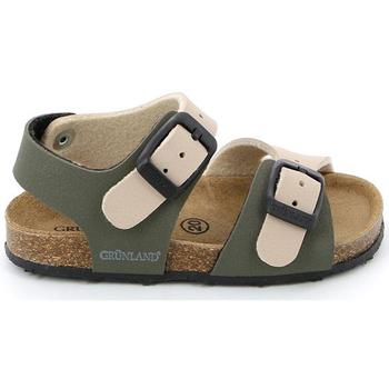 Sapatos Criança Sandálias Grunland SB0413 Bege