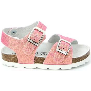 Sapatos Rapariga Sandálias Grunland SB0024 Rosa
