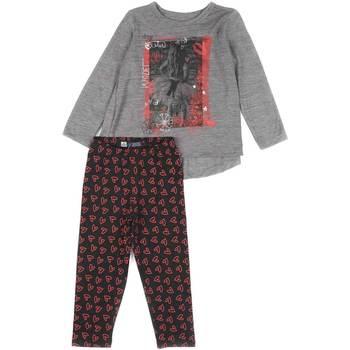 Textil Rapariga Conjunto Losan 626 8016AD Cinzento