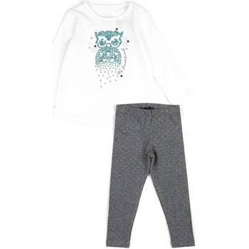 Textil Rapariga Conjunto Losan 626 8026AD Branco