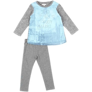 Textil Rapariga Conjunto Losan 626 8761AD Cinzento