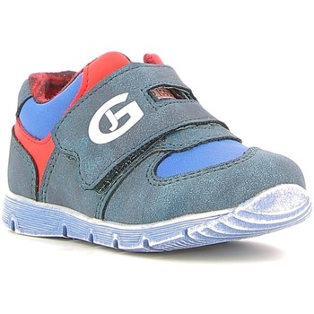 Sapatos Rapaz Sapatilhas Grunland PP0157 Azul