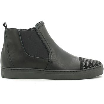 Sapatos Criança Sapatilhas de cano-alto Holalà HS050008L Preto