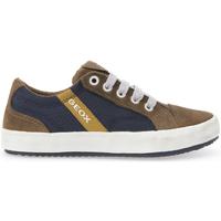 Sapatos Criança Sapatilhas Geox J642CA 0FU22 Castanho